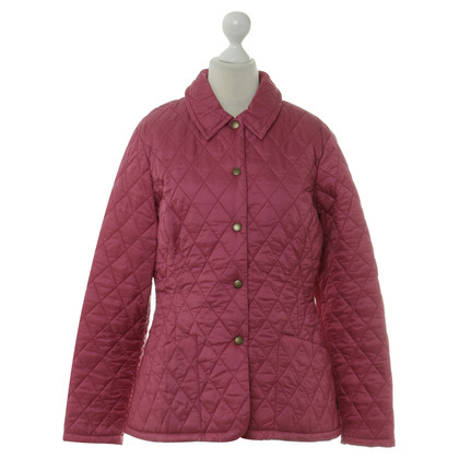 Barbour Giacca trapuntata in rosa