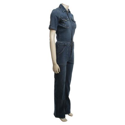 Frame Denim Jumpsuit jeans look
