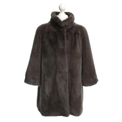Other Designer Inès & Maréchal: mink jacket