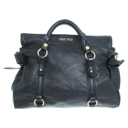 "Miu Miu ""Bow Bag"" in nero"