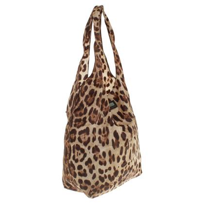 Dolce & Gabbana Einkaufstasche im Animal-Motiv