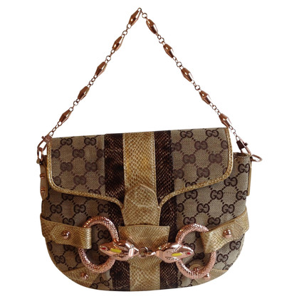 Gucci Handbag with snake decoration