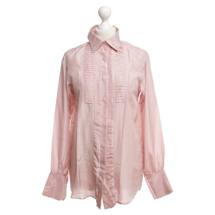 Max Mara Silk blouse in blush pink