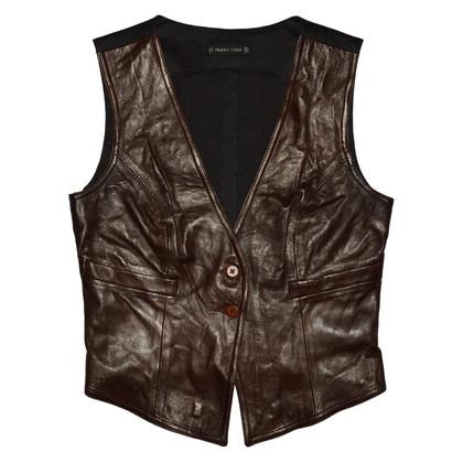 Plein Sud Leather Vest