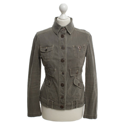 Moschino Military Jacket in Grün
