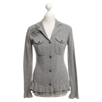 Allude Strickjacke in Grau