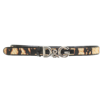 D&G riem patent leather