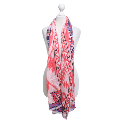 Emilio Pucci Scarf with multi-pattern