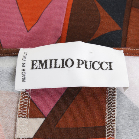 Muster Emilio mit Muster Pucci Emilio Bunt Oberteil Pucci xfq5I0Ww5