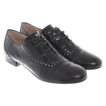Armani Lace-up shoes in black
