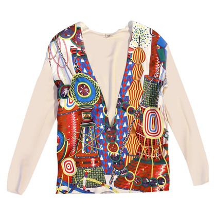 Hermès Strickjake aus Kaschmir und Seide