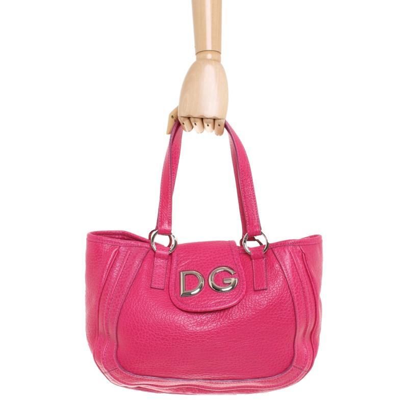 Dolceamp; Acheter Gabbana Main Sac En Cuir À Rosepink PXiZukO