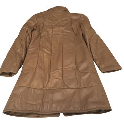 Closed cappotto di pelle
