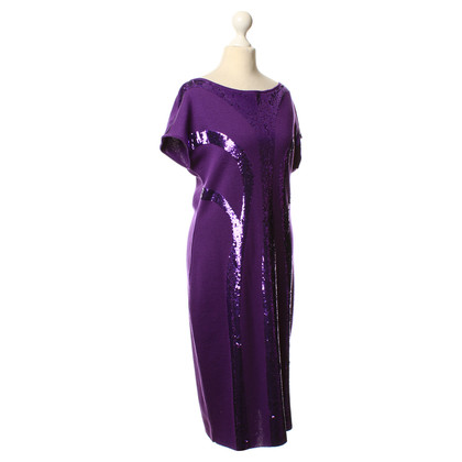 Alberta Ferretti Wool dress with sequins