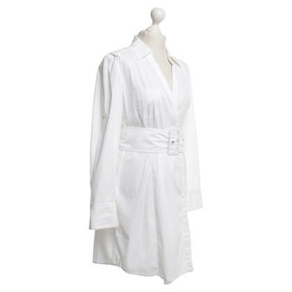 Marc Cain Lange blouse in het wit