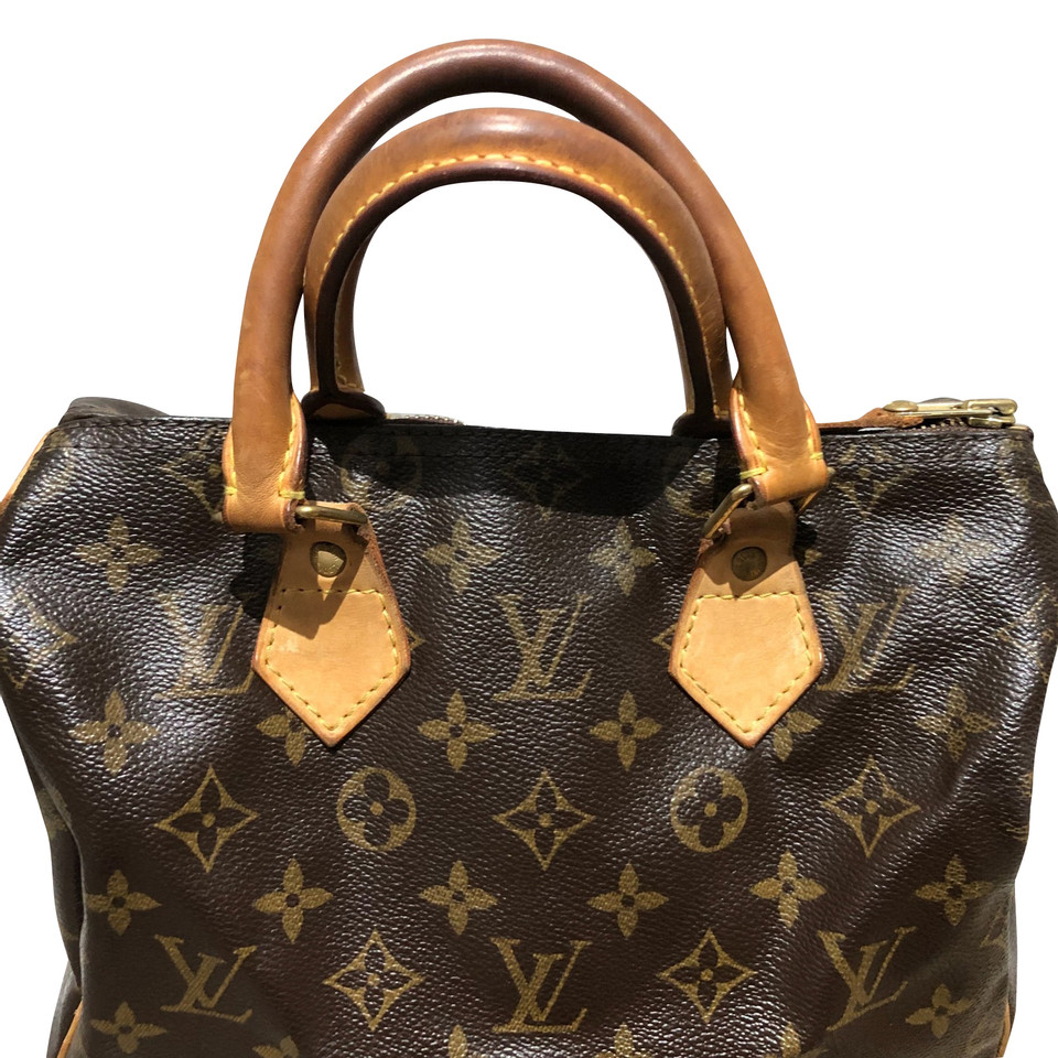 louis vuitton speedy monogram 25 buy second hand louis vuitton speedy monogram 25 for. Black Bedroom Furniture Sets. Home Design Ideas