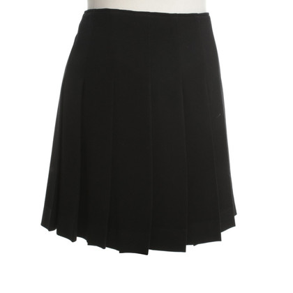 Miu Miu Folding skirt in black