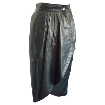 Gianni Versace Leather skirt