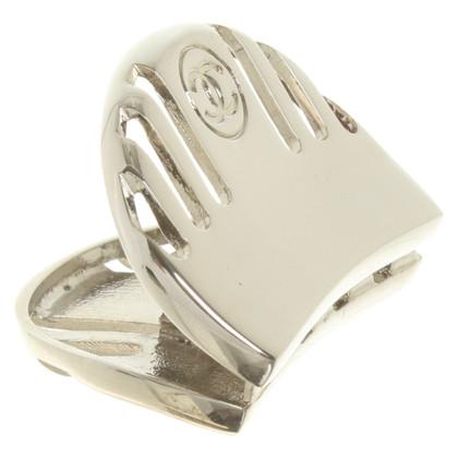 Chanel Fermacapelli color argento