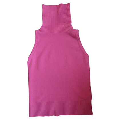 Strenesse Blue Tank top with turtleneck