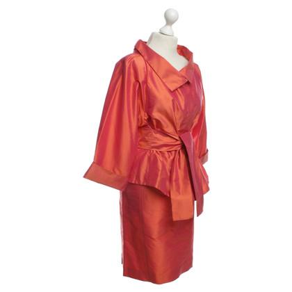 Armani Collezioni  Silk costume in Orange