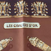 """Hermès Carré """"Les Cavaliers D'Or"""""""