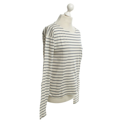 Prada Striped longsleeve Blue / White