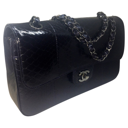 Chanel Python Leather Classic Flap Bag
