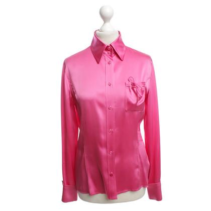 Bogner Seidenbluse in Pink