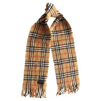 Burberry Angora and merino wool blend scarf