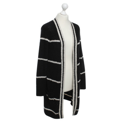 Laurèl Cardigan in black / white