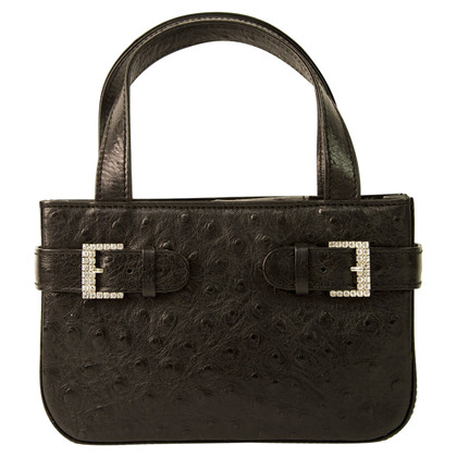 MCM Evening bag ostrich leather