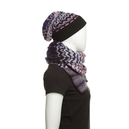 Missoni Hat & Scarf Wool Mix