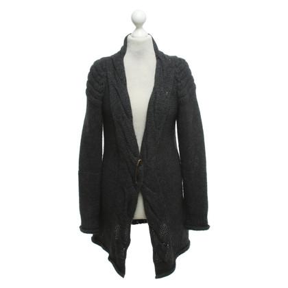 Rich & Royal Cardigan in dark gray
