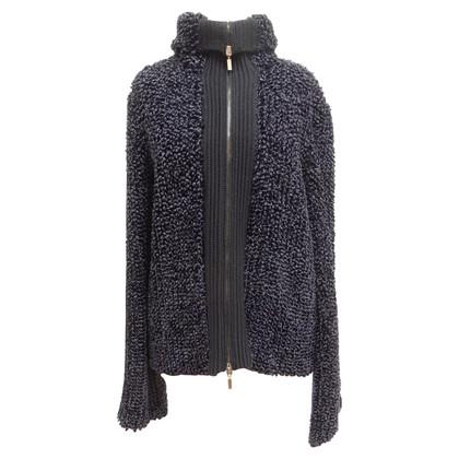 Giorgio Armani Chenille zip jacket