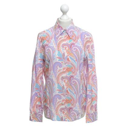 Escada Paisley-blouse