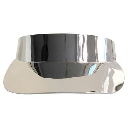 Emilio Pucci Cappuccio in metallo argento