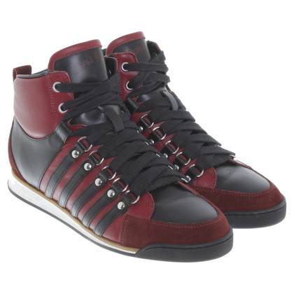 Dsquared2 Sneakers a Bordeaux