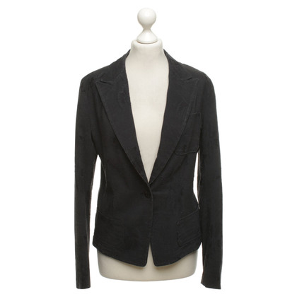 Dries van Noten Seta Blazer in Black