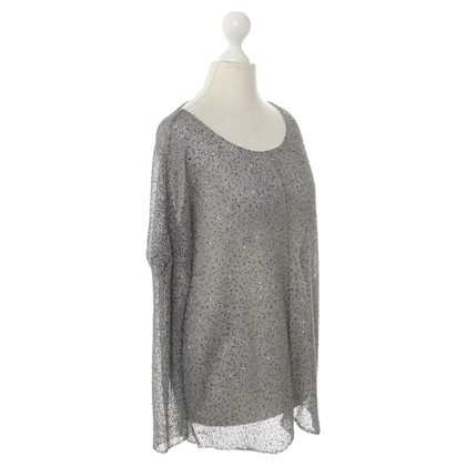 Lala Berlin Sweater with blue sequins
