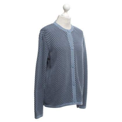 Cos Strickjacke in Blau