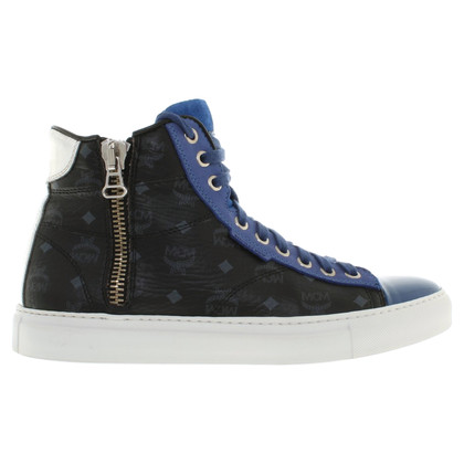 Michalsky High-top sneakers met Monogram patroon