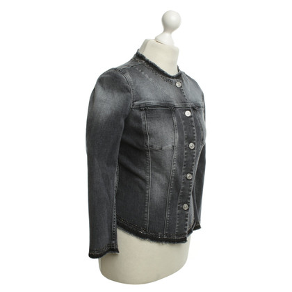7 For All Mankind Jean Veste en gris