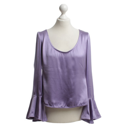 Yves Saint Laurent Bluse in Lila