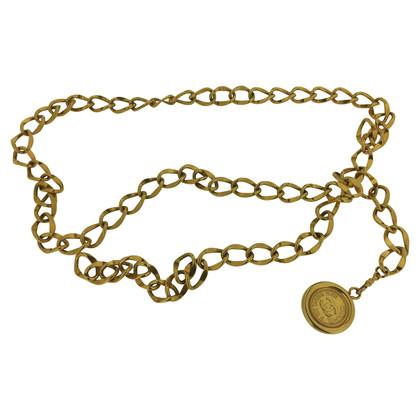 Chanel Kettengürtel mit Münzanhänger