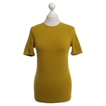 Jil Sander Mustard Yellow T-Shirt