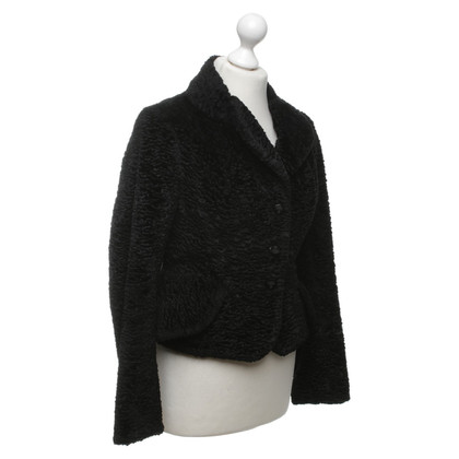 Vivienne Westwood Faux fur jacket in black