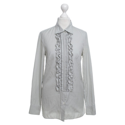 Chloé Blouse with ruffles in gray