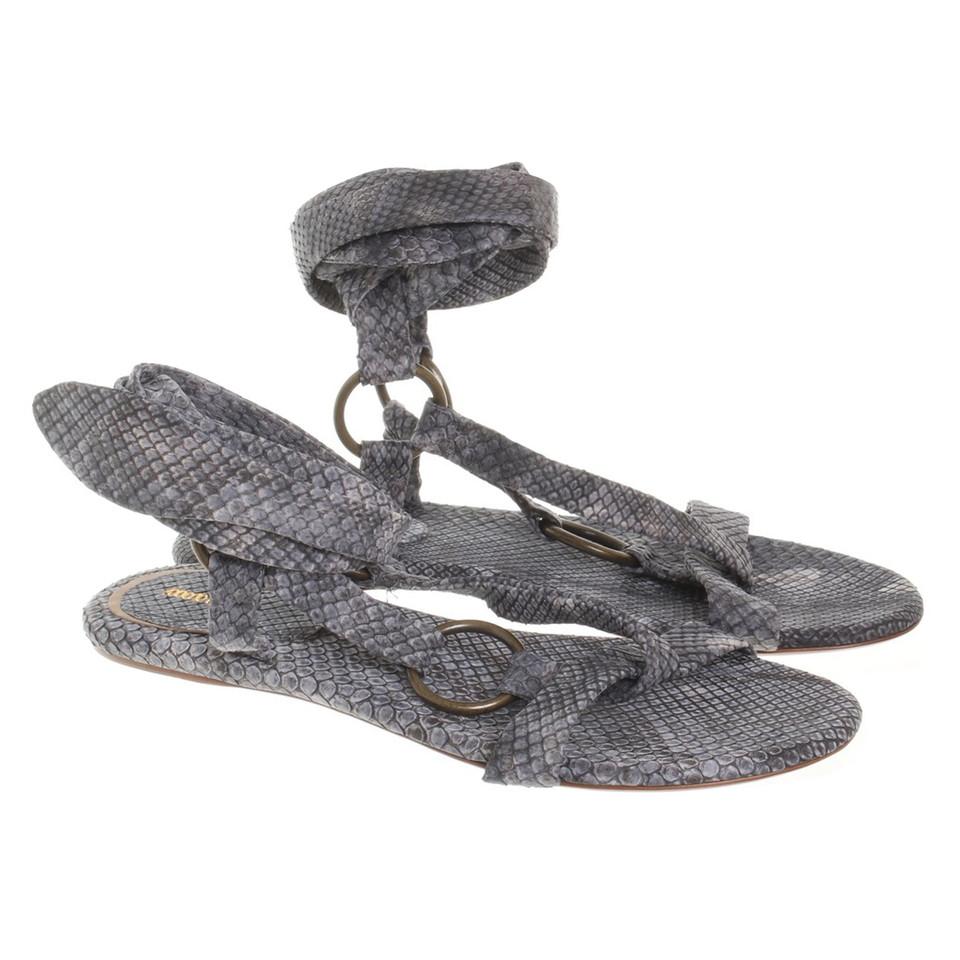 roberto cavalli sandalen zum schn ren second hand