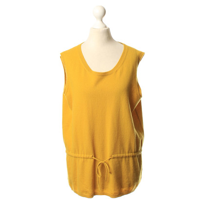 Other Designer Agnona - Slipover in Curry yellow